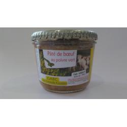 Pâté de boeuf au poivre vert (180g)