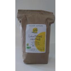 Lentilles vertes -BIO-