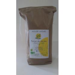 Farine de blé à la meule - BIO (1Kg)