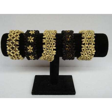 Bracelets fantaisie en bois