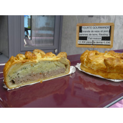 Tourte Gourmande - Fabrication artisanale