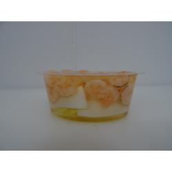Aspics de crevettes ou de saumon