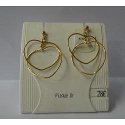 Boucles d'oreilles - Coeur