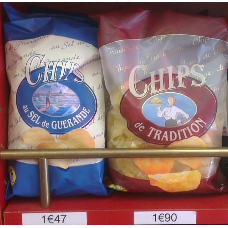 Chips tradition et au sel de Guérande