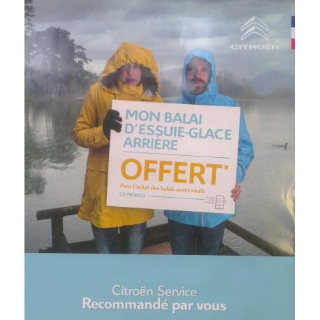 PROMO : Balais essuie-glace ARRIÈRE - OFFERT