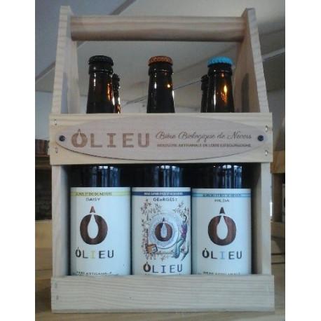 Coffret bières Ôlieu BIO
