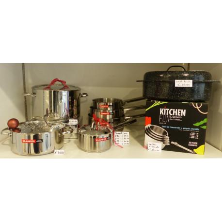 Batterie de cuisine - à la Quincaillerie Joseph