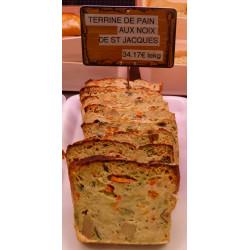 Terrine de pain aux noix de St Jacques - Charcuterie KESTEN