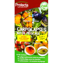 Carpocapses - kit de piégeage