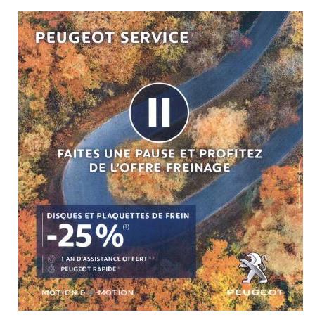 OFFRE DE FREINAGE - Garage DACHÉ