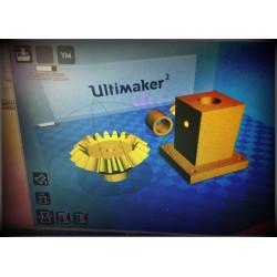 Servez-vous d'une Imprimante 3D au Fab Lab de Luzy