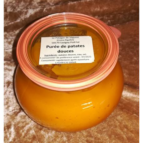 Purée de patates douces (500 ml)