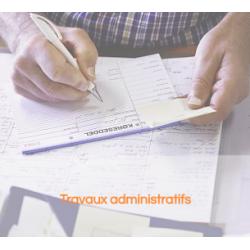 Travaux administratifs : Cindy BONNIT