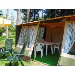 Tentes bungalow - camping naturiste