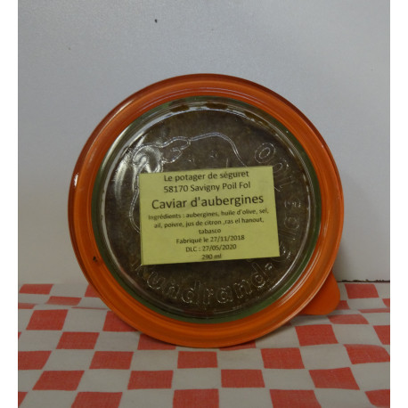 Caviar d'aubergines (290 ml)