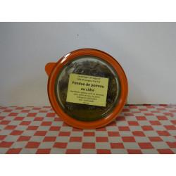 Fondue de poireaux au cidre (350 ml)