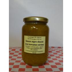 Sauce aigre douce aux tomates vertes (350 ml)